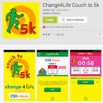 Couch to 5k Android is go