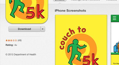 Couch to 5k is go!