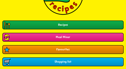 Change4Life recipe app update