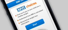 NHS BMI calculator goes mobile
