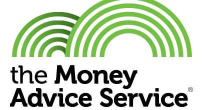 Money Advice Service tool